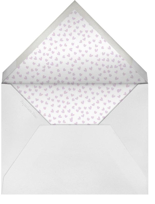 Hello Valentine - Pink - Linda and Harriett - Valentine's Day - envelope back