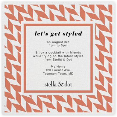 Stella And Dot Diagonal - Orange - Paperless Post -