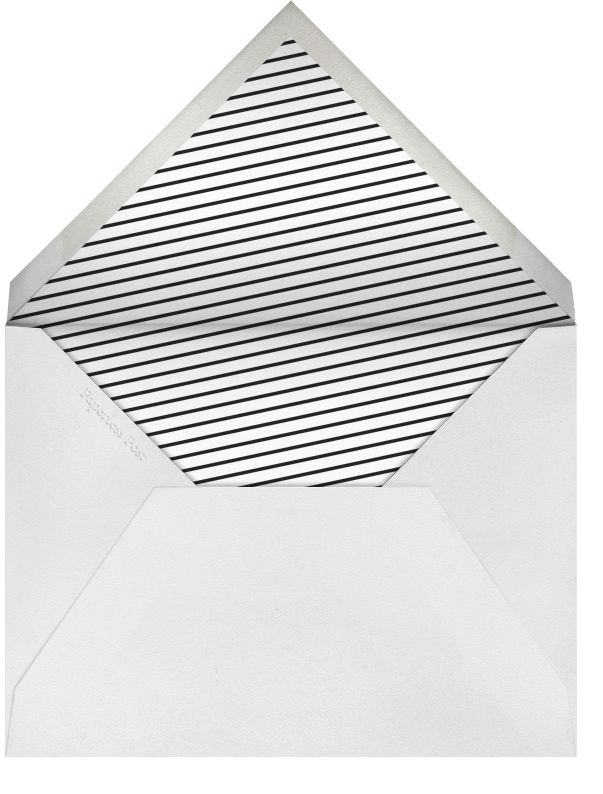 Stella And Dot Scarf - Silver - Paperless Post - Envelope