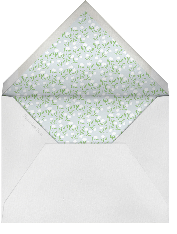Easter Bunny (Buttercup) - Paperless Post - Easter - envelope back