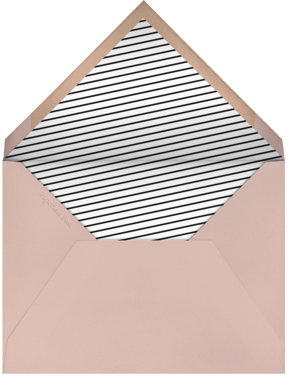 Indented Corners - Antique Pink and Black (Tall) - Paperless Post - Easter - envelope back