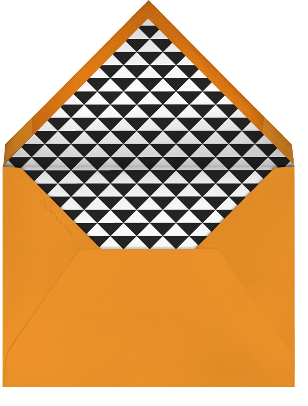 Gingham Apricot - Paperless Post - Envelope