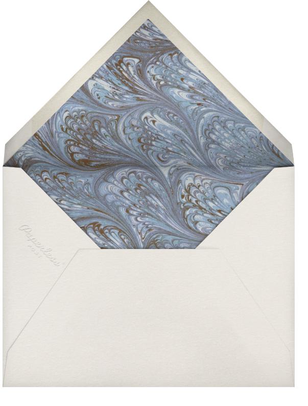Cream Interior Border (Pumpkin) - Paperless Post - General entertaining - envelope back