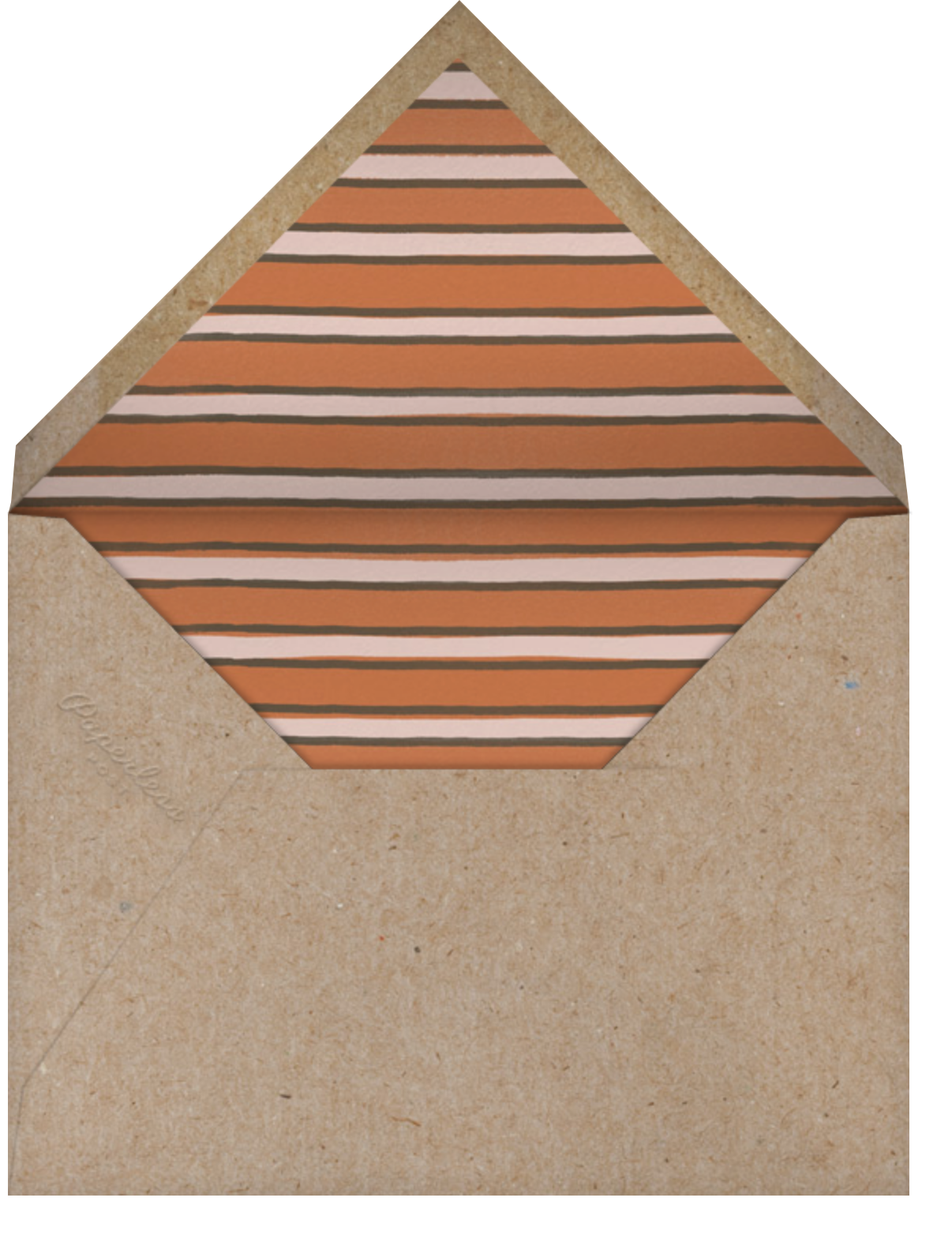 Rooster - Paperless Post - Picnic - envelope back
