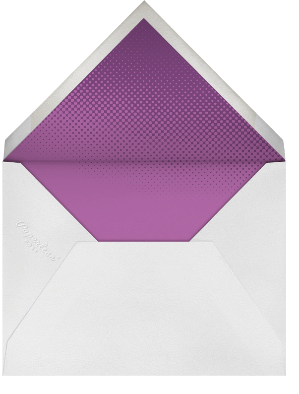 Eggplant (Tall) - Paperless Post - Adult birthday - envelope back