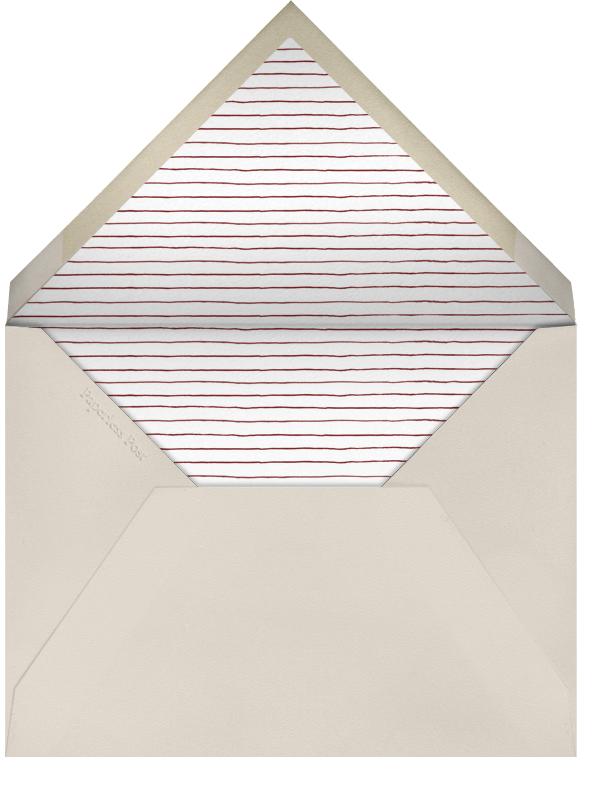 Watercolored Eggs - Paperless Post - Easter - envelope back