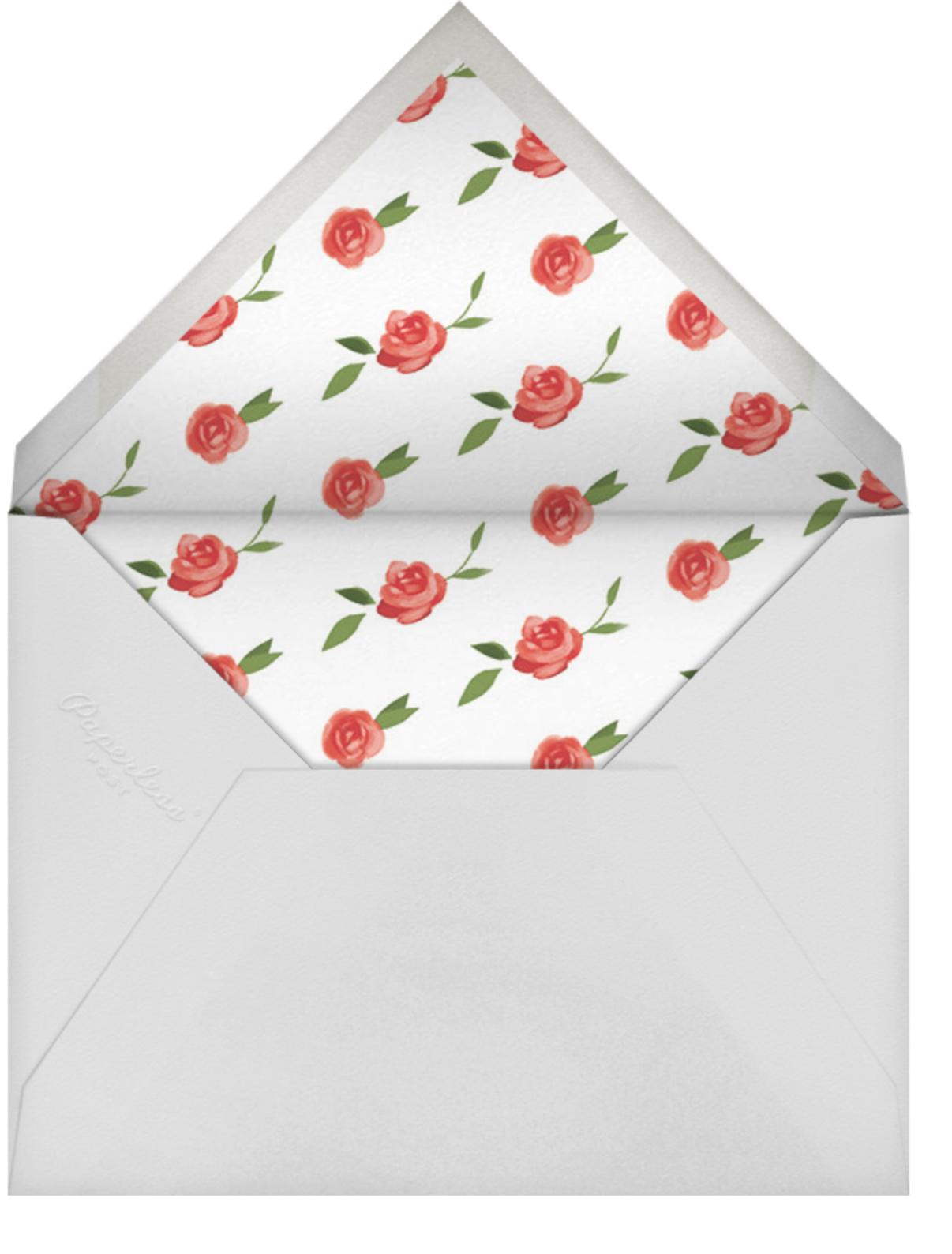 Red (Square) - Paperless Post - Brunch - envelope back
