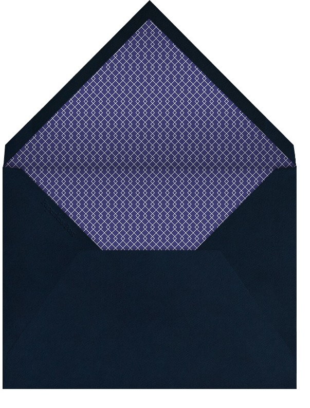 Arabesque (Dark Blue) - Paperless Post - Ramadan - envelope back