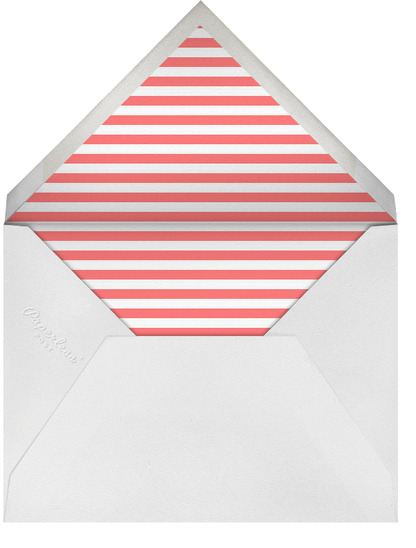 Hot Air Balloon Cluster - Coral - Paperless Post - Envelope
