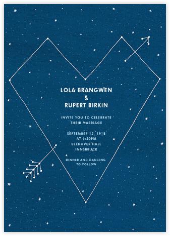 Constellations - Tall - Paperless Post - Online Wedding Invitations