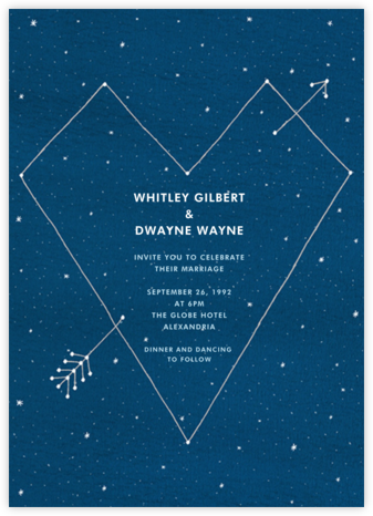 Constellations - Tall - Paperless Post - Wedding invitations