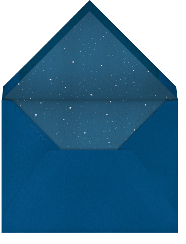 Constellations - Horizontal - Paperless Post - Personalized stationery - envelope back
