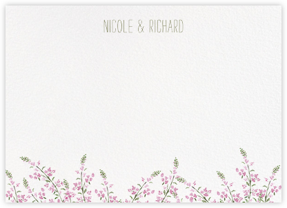 Heathers (Stationery) - Lilac - Paperless Post - Personalized stationery