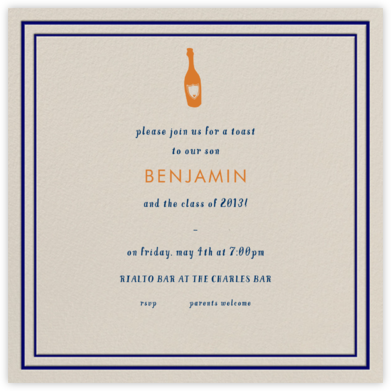Rue du Dragon - Paperless Post - Celebration invitations
