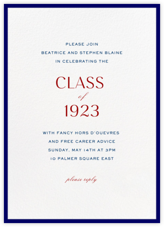Contorno - Blue - Paperless Post - Celebration invitations