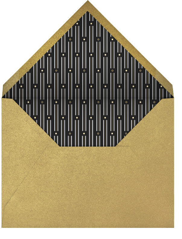 Pall Mall - Paperless Post - Graduation party - envelope back