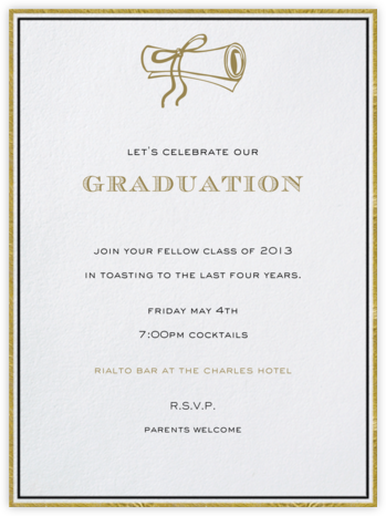 Pall Mall - Paperless Post - Celebration invitations
