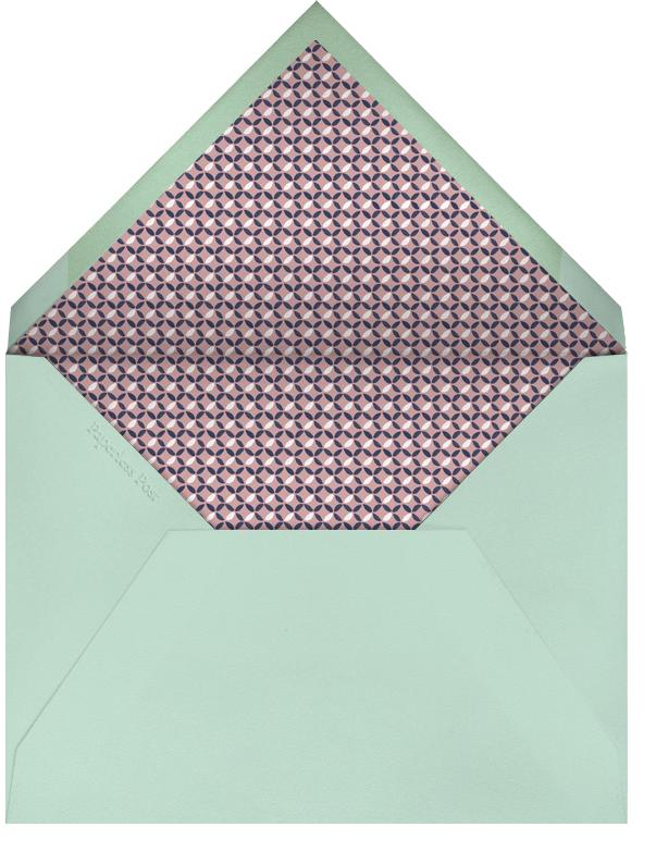 Willowmarsh - Tea Rose - Paperless Post - Easter - envelope back
