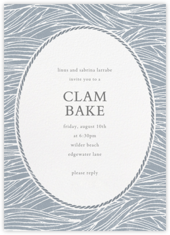 Vintage Wave - Tall - Paperless Post - Summer entertaining invitations