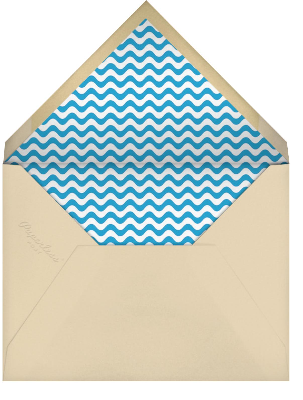 Beach Scene - Paperless Post - Summer parties - envelope back