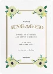 A Floral Engagement