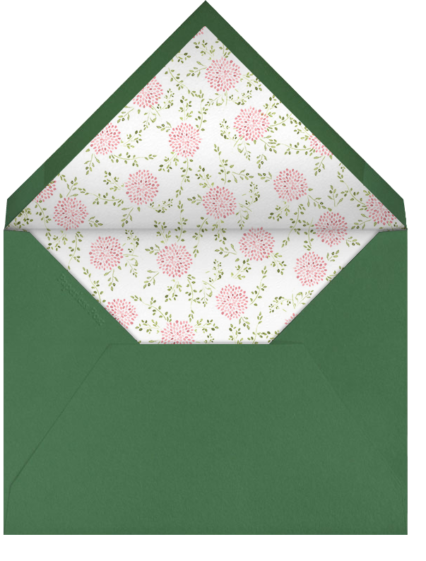 Dahlias (Tall) - Pink - Paperless Post - Easter - envelope back