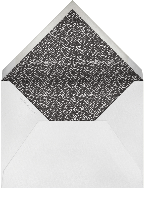 The Raleigh - Sunshine - Mr. Boddington's Studio - Bridal shower - envelope back