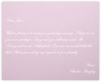 Blush - Paperless Post -
