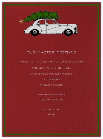 Rolls Royce Christmas (Cardinal) - Paperless Post -