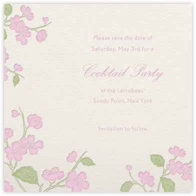 Blossom - Paperless Post - Online Party Invitations