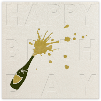 Champers Pop - Paperless Post - Birthday Cards for Him