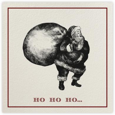 Classic Santa (Cream) - Paperless Post -