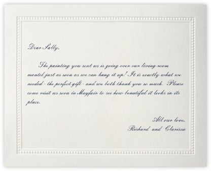 Corinthian (Horizontal) - Paperless Post - Wedding thank you cards