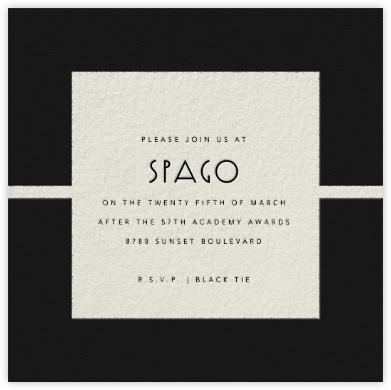Geometric - Paperless Post - Invitations