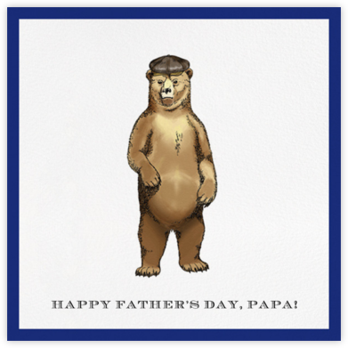 Grizzly Bear - Paperless Post - Father's Day cards
