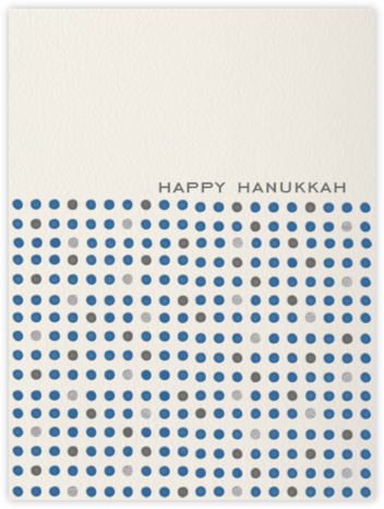Hanukkah Dots - Paperless Post - Hanukkah Cards