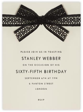 Merletto - Paperless Post - Adult Birthday Invitations