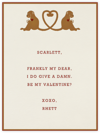 Monkey Love - Paperless Post -