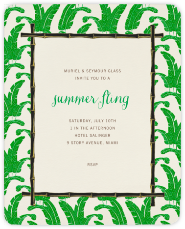 Lyford - Paperless Post - Summer entertaining invitations