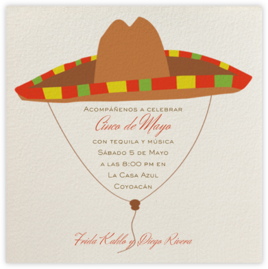 Olé - Paperless Post - Cinco de Mayo Invitations