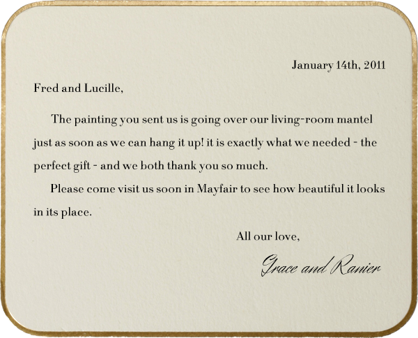 Saint Germain (Horizontal) - Paperless Post - Wedding thank you notes