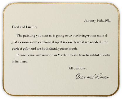 Saint Germain (Horizontal) - Paperless Post - Wedding thank you notes