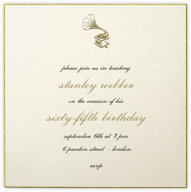Thurloe - Paperless Post - Adult Birthday Invitations