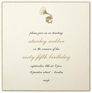 Thurloe - Paperless Post - Adult birthday invitations