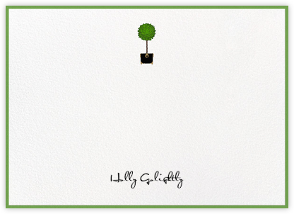 Topiary - Paperless Post - Stationery