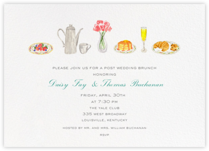 Brunch - Paperless Post - Online Party Invitations