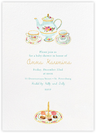 Petits Fours Secs - Paperless Post - Baby shower invitations