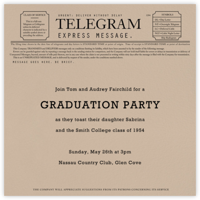 Telegram - Paperless Post - Celebration invitations