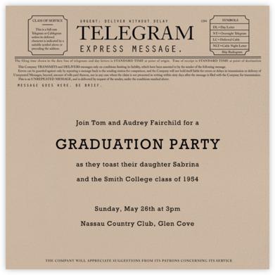 Telegram - Paperless Post - Celebration invitations