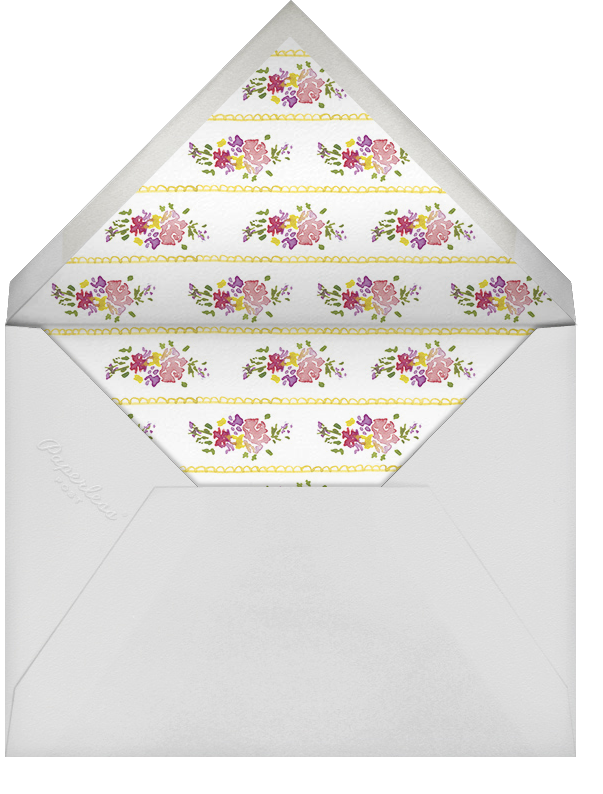 Three Cups of Tea - Paperless Post - Baby shower - envelope back